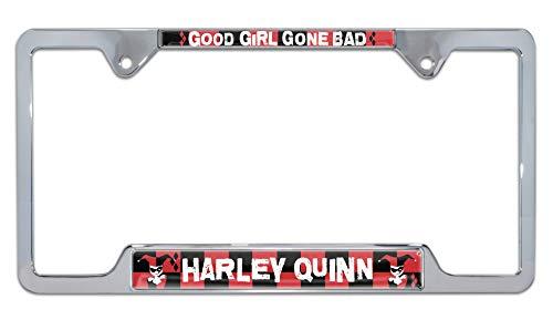 317V3NPs+fL Harley Quinn License Plate Frames