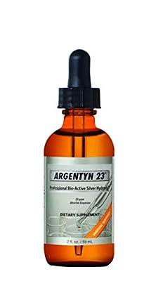 Argentyn 23® Professional Formula Bio-Active Silver Hydrosol for Immune Support* – 2 oz. (59 mL) Dropper Bottle – Colloidal Silver – Colloidal Minerals