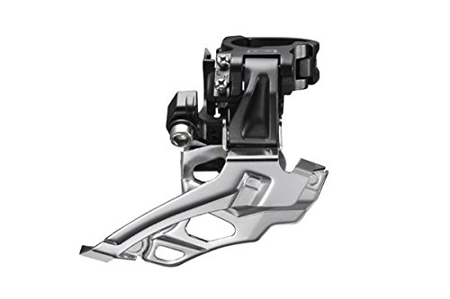Shimano Deore FD-M616 Conventional Swing Double Front Derailleur - Black, 10 Speed