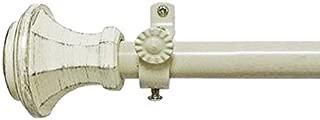 Achim Home Furnishings Carson Buono II Rod Finial, 28-Inch Extends to 48 Inch Inch