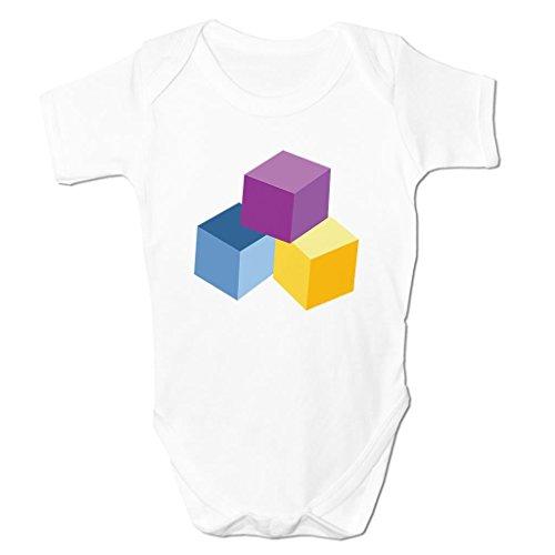Play Blocks Baby Toys Emoticon Icon Symbol Cartoon Cute Kids Baby Grow