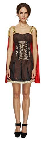 Smiffys Costume Fever de gladiateur, robe avec cape