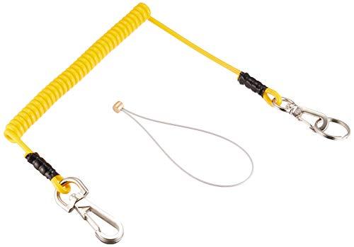 タジマ(Tajima) 安全ロープ イエロー 取付工具重量1kg用 AZ-ROPY [安全帯 落下防止 電気工事 高所での安全作業]