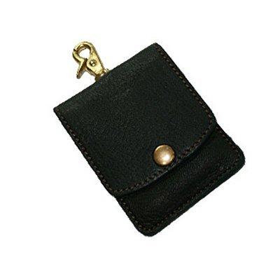 [parley] パーリィー 携帯灰皿ケース シュガーケース レザー 本革 ポケット灰皿 エルク 喫煙具 メンズ プレゼント ブラック