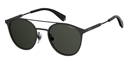 Polaroid Eyewear Unisex-Erwachsene PLD 2052/S Sonnenbrille, Schwarz (BLACK), 51