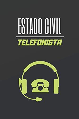 ESTADO CIVIL TELEFONISTA: CUADERNO DE NOTAS. LIBRETA DE APUNTES, DIARIO PERSONAL O AGENDA PARA TRABAJADORES TELEFÓNICOS. REGALO DE CUMPLEAÑOS.