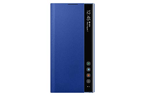 Samsung EF-ZN975CLEGWW Funda Clear View Cover Note 10+, azul