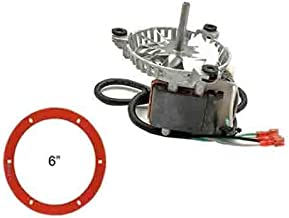 PelletStovePro - Harman Invincible RS & Insert Pellet Exhaust Combustion Motor w/Silicone Gasket - 3-21-08639
