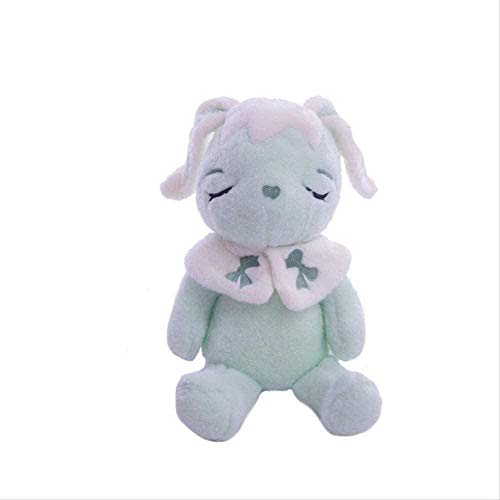 NC56 Peluches Jugando Conejo Peluche 35Cm Muñecas Precioso Moonlight Crescent Rabbit Doll Almohada Regalo