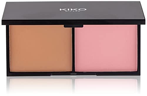 KIKO Milano Smart Blush And Bronzer Palette 01 | Palette con Fard e Terra Abbronzante