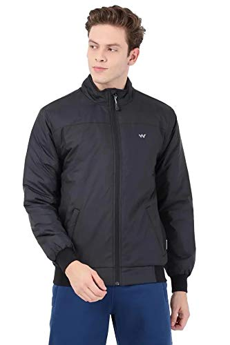 Wildcraft Men's Light Quilted Jacket (LQJ, Packable) (BLACK) (XX-Large)