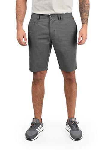BLEND Sasuke Herren Chino Shorts kurze Hose, Größe:L;Farbe:Granite (70147)