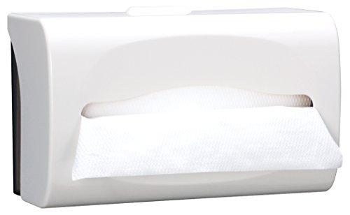 【ケース販売】 クレシア 壁掛け用 ハンドタオル ディスペンサー スリム 中判用 200枚収納 1台入 04160