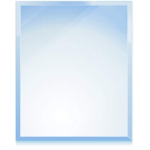 bijon® Funkenschutz-Platte mit Facettenschliff | Glasplatte Kaminofen | Kaminschutz mit ESG Sicherheitsglas | Kamin Zubehör | Kamin Glasplatte | Quadrat 110 x 110 cm | 6mm