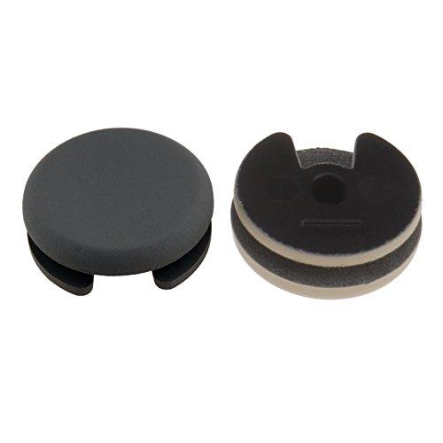 D2D Graue Analog-Stick, Joystick-Kappe für 3DS XL LL Controller-Teil