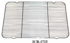 Winco ICR-1725 Icing/Cooling Rack with Built-in Feet, 16.25-Inch by 25-Inch