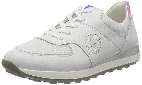 Remonte Damen R1800 Sneaker, Weiss/Weiss/Silber-Multi / 81,40 EU Weit