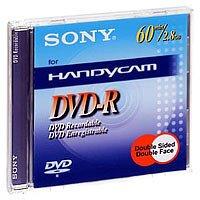 Sony - Doppelseitige DVD-R (recordable) für DVD-Camcorder, 60 Minuten