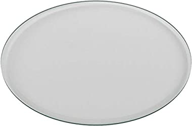 """48"""" Inch Round Glass Table Top 1/2"""" Thick Tempered Beveled Edge by Fab Glass and Mirror"""
