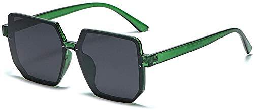 Gafas de sol multilaterales de marco grande para mujer polarizadas espejo anti-UV gafas de moda-Merchase_Box_Coffee_Piece