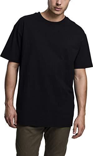 Urban Classics Heavy Oversized Tee, Camiseta Hombre, Negro (Black 00007), XXXXX-Large