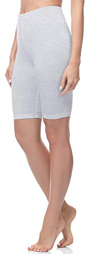 Merry Style Mallas Cortas Leggins Mujer MS10-200 (Melange, M)