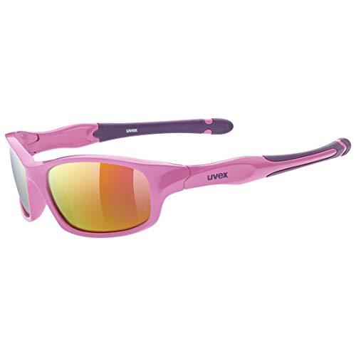 uvex Unisex Jugend, sportstyle 507 Sonnenbrille, pink purple/pink, one size