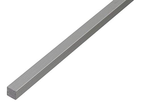 GAH-Alberts 470098 Vierkantstange - Aluminium, natur, 1000 x 10 x 10 mm