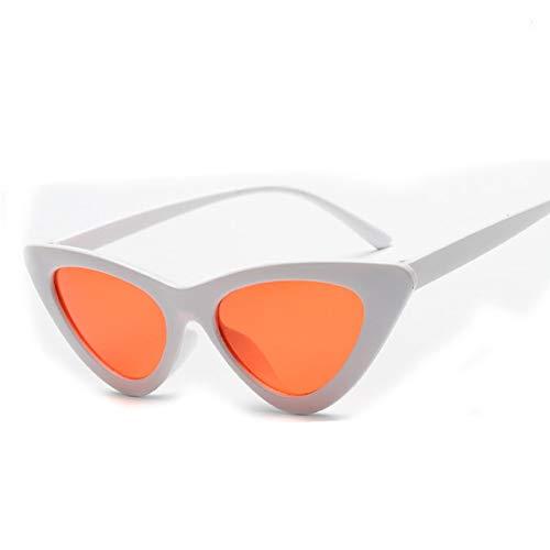 XMYNB Gafas de sol 1Pc Vintage Cateye Gafas Gafas De Sol Mujeres Sexy Retro Pequeño Gato Ojo Gafas De Sol Gafas Coloridas Para Mujer