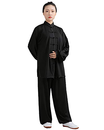 Daoba Artes Marciales  Disfraz chino para Tai Chi and Wing Chun | Disfraz de tanga de estilo chino | Costumes ligeros para meditacin y Qigong