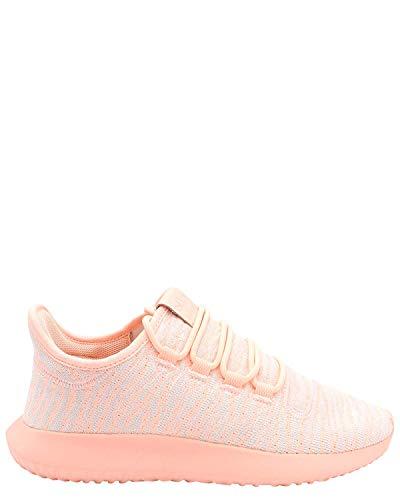 adidas Originals Kids Girl's Tubular Shadow J (Big Kid) Clear Orange/White/Light Pink 4 Big Kid M