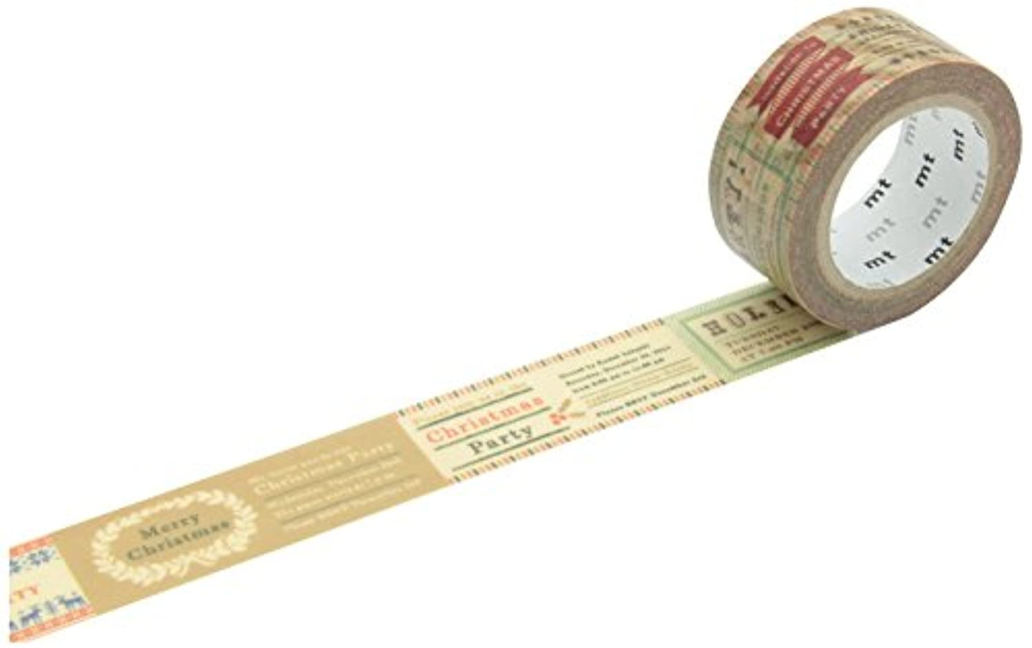 mt Xmas Invitation Washi Masking Tape