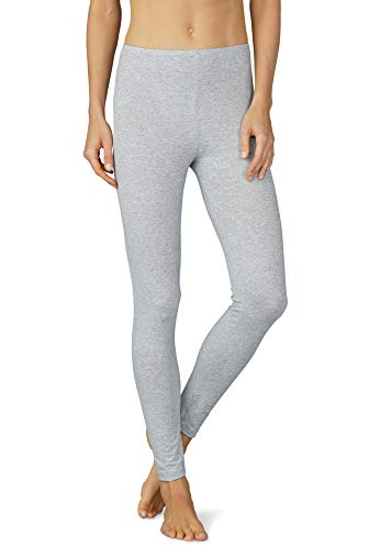 Mey Basics Serie Cotton Pure Damen Leggings Grau 36
