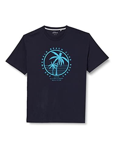 s.Oliver Big Size Herren 131.14.107.12.130.2108211 T-Shirt, 5882, 4XL
