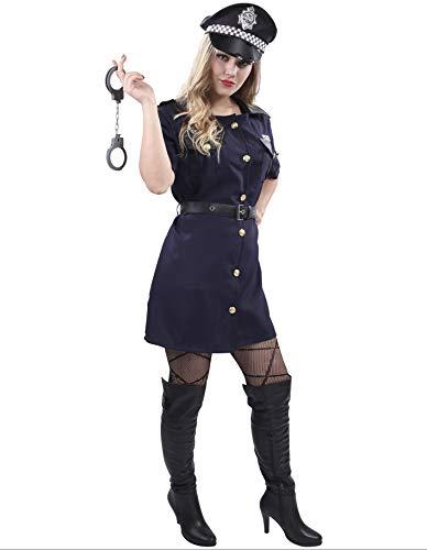 PARTY FIESTA Disfraz De Agente Polica para Mujer (L)