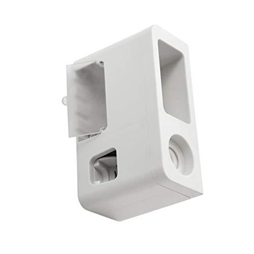Soporte para cepillo de dientes eléctrico, soporte para cepillo de dientes de pared, exprimidor automático de pasta de dientes, dispensador de dientes soporte para cepillo para el baño casero