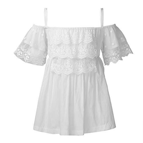 TiaoBug Vestido de Encaje para Niña de Bebé Niña Vestido de Princesa...