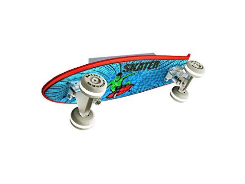 Evotec MINI CRUISER LED Skateboard - Wandleuchte 5flg. / 2700K / 6,5W / 685 Lumen, Plastik, 6.5 W, Transparent, Small