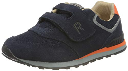 Richter Kinderschuhe Junior 7626-8111 Sneaker, 7201atlantic/neon orange, 38 EU