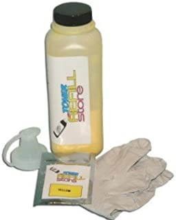 Toner Refill Store ™ Yellow Toner Refill Kit with reset chip for the Samsung CLP-510 CLP-510n CLP510 CLP-510D5Y