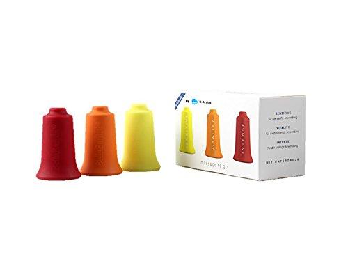 BellaBambi® Schröpfcups by K-Active | Trio original | Cupping Set für innovative Unterdruckmassage | Cups für Massage, Faszientherapie und vieles mehr