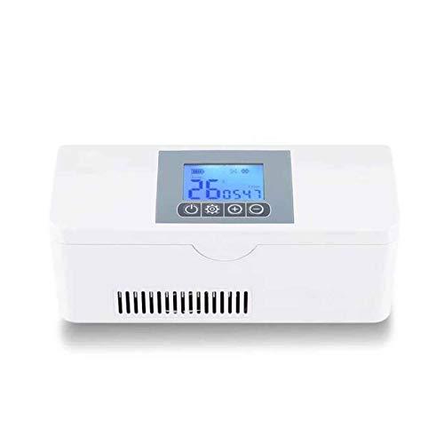 Mini Nevera portátil insulina refrigerada/Caja de refrigerador de la insulina/Drogas Reefer/Nevera pequeña, USB médico de Viaje Pequeño Caso del refrigerador de refrigeración de medicamentos, ho