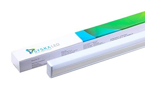 Syska T5 18-Watt LED Tubelight (Pack of 2, Cool White)