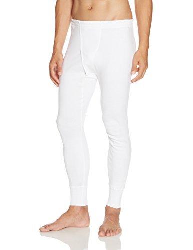 [グンゼ] 長ズボン下 快適工房 年間 綿100% KH3002 メンズ ホワイト 日本L (日本サイズL相当)