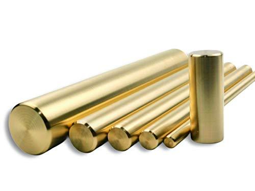Messingstange, Messing Rundstange, Kupferlegierung CW614N, DIN EN12164, 25x250 mm