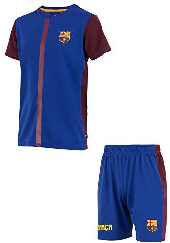 Fc Barcelone Hemd + Short Barca - Offizielle Sammlung Kindergröße 10 Jahre