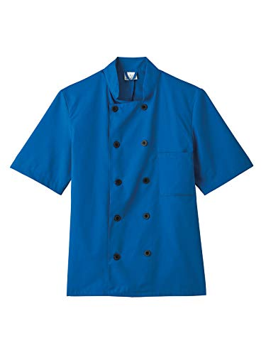 Five Star Chef Apparel 18025 Unisex Short Sleeve Chef Coat