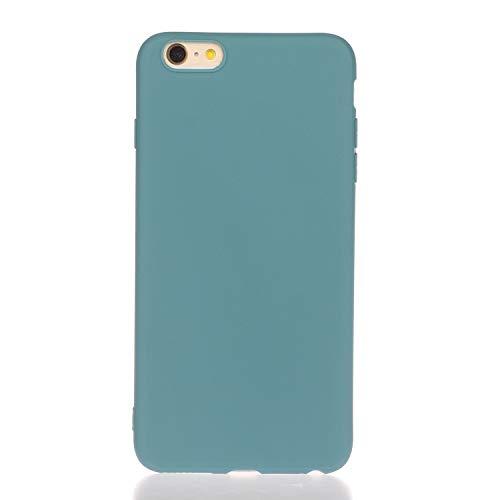 LeviDo Funda Compatible para iPhone 5/iPhone 5s/iPhone SE 2016 Silicona TPU Gel Case Ultrafina Carcasa Goma Bumper Antigolpes Resistente Kawaii Color Caramelo One Piece Cover, Azul 1