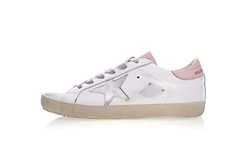 GGDBGolden Goose Luxury Fashion Mujer Blanco Cuero Zapatillas | Season Permanent (39 EU,008)