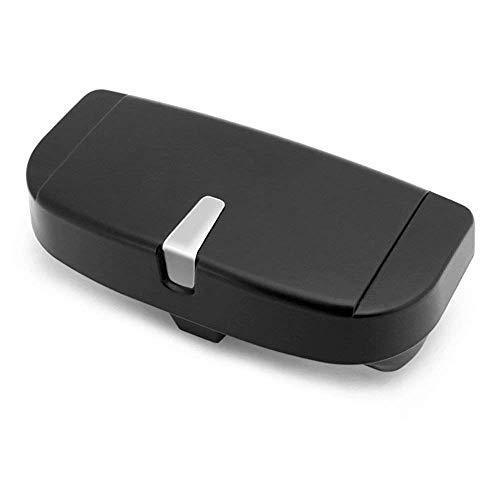 2019 nieuwe auto zonneklep glazen doos zonnebril case opslag box houder (zwart)